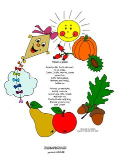 Pieseň o jeseni - Nasedeticky. Autumn Crafts, Kids And Parenting, Education, Children, School, Pulley, Fall, Young Children, Boys