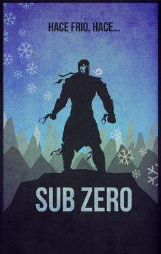 sub zero by ~albertoo on deviantART
