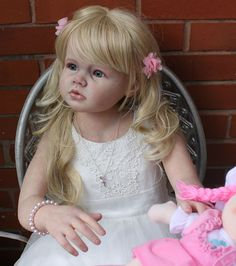 ANGELICA Reborn Girl Toddler Child by REVA SCHICK ~ Little Sunshine Nursery | eBay