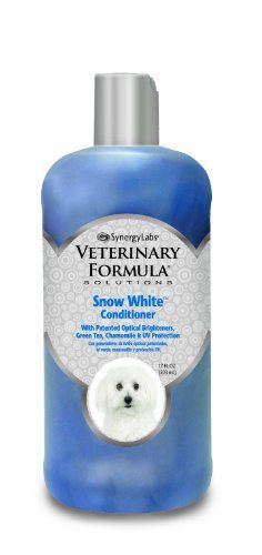 SynergyLabs Veterinary Formula Solutions Snow White Conditioner, 17 fl. oz. * Want to know more, click on the image.