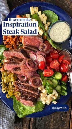 New Recipes, Salad Recipes, Dinner Recipes, Cooking Recipes, Favorite Recipes, Healthy Recipes, Roast Recipes, Crockpot Recipes, Dinner Ideas