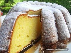 Kek me limon - Receta + Fotografi Milk Recipes, Gourmet Recipes, Sweet Recipes, Cookie Recipes, Slovak Recipes, Czech Recipes, Kolachi Recipe, Eastern European Recipes, Healthy Diet Recipes