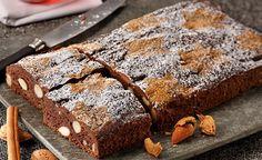 Finis Feinstes - Rezepte - Fini´s Rezepte - Lebkuchen-Mandel-Kuchen (Süße Backstube Schokokuchen)