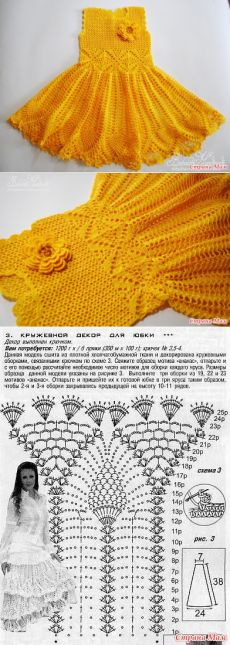 """Платье для девочки """"Весенний цветок"""" от babaeva_handmade"""