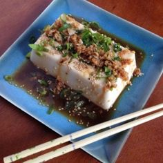 10-minute tofu appetizer! Great for weeknights.