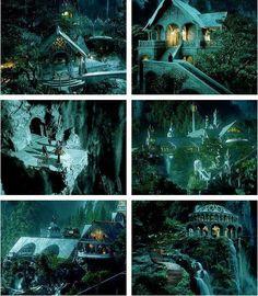 Rivendell at night...