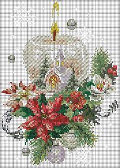 Santa Cross Stitch, Small Cross Stitch, Cross Stitch Samplers, Cross Stitch Charts, Cross Stitch Designs, Cross Stitching, Cross Stitch Patterns, Cross Stitch Christmas Ornaments, Christmas Embroidery