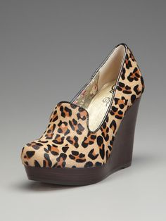 The last thing I need is another pair of leopard shoes... but I LOVE these!  Budapest Pump by Seychelles on Gilt.com