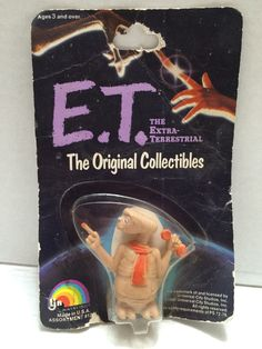 (TAS004290) - 1982 LJN E.T. The Extra Terrestrial Figure - Telephone