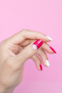 All pink || Elegant pink nail design