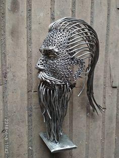 Welding Art Projects, Metal Art Projects, Metal Crafts, Recycled Metal Art, Scrap Metal Art, Metal Artwork, Metal Wall Art, Metal Sculpture Artists, Sculptures