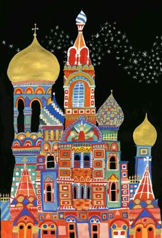 Image result for russian cityscape art project