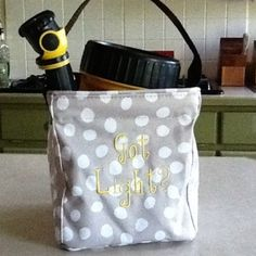 #ThirtyOne Littles Carry-All Caddy for storing flashlights (or candles). www.totallycutebags.com