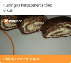 Pudingos keksztekercs Weight Watchers Desserts, Muffin, Breakfast, Food, Candy, Morning Coffee, Essen, Muffins, Meals