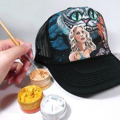 Example pic of Custom Cap Snapback by AnnatarCustomizer on Etsy