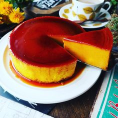 It will not be rich thick ♪ ♪ greatly improved preservation version pumpkin pudding ♪ Kid Desserts, Asian Desserts, Sweets Recipes, Cake Recipes, Snack Recipes, Pumpkin Custard, Pumpkin Pudding, Flan Recipe, Homemade Sweets
