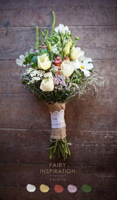 colori e profumi di campagna  bouquet della semplicità