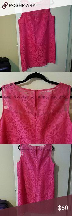 Donna Morgan Lace shift dress New Donna Morgan lace dress. Bust 42 - Hips 46 - Length 37 Donna Morgan Dresses Mini