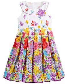 Bonnie Jean Girls' Floral Dress