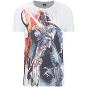 Geek Clothing Star Wars Mens Vader Stencil T-Shirt - White - M Crafted from polyester, this regular fit T-Shirt is officially licensed and finished with a stylised print on the front, a crew neck and short sleeves. (Barcode EAN=5060486473328) http://www.MightGet.com/march-2017-1/geek-clothing-star-wars-mens-vader-stencil-t-shirt--white--m.asp
