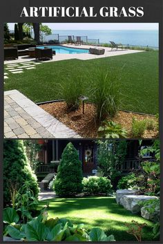 pring is here and we can now start to envision a green and gently rolling lawn for our family to enjoy.  We all know the hard work that goes into lawn maintenance; weeding, watering, mowing and raking.  The constant demands of lawn care are often more than any of us can keep up with.