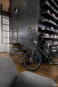 Loft by architect Dimitar Karanikolov and interior designer Veneta Niklova