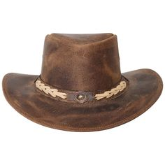 9cc61507ed1 Western cowboy hats Calgary LESA COLLECTION Leather Cowboy Hats