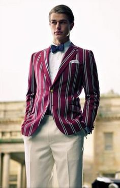 A handsome Brooks Brothers jacket  inspired by F. Scott Fitzgerald's Gret Gatsby