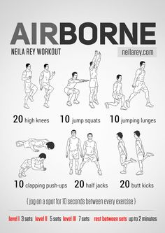 Airborne Workout neilarey.com | #fitness #bodyweight