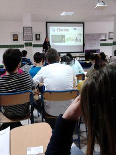 """On 6th April, it was held the first meeting for the conference """"Internet and Social Networks for Employability"""" at Secondary School Juan Ramón Jiménez in Moguer (Huelva).  El pasado 6 y 7 de abril se han celebrado las  jornadas de """"INTERNET Y REDES SOCIALES PARA LA EMPLEABILIDAD"""" en el I.E.S. Juan Ramón Jiménez en la localidad de Moguer, Huelva"""