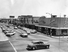 old downtown Torrance and California Bank (my first bank, now Wells Fargo) Torrance California, California Dreamin', Vintage California, South Bay Area, Los Angeles County, Back In The Day, Street View, Places, Memories