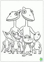 dinosaur train coloring pages colouring dino train