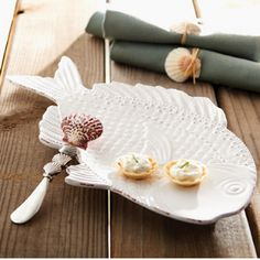 Fish Platter With Spreader