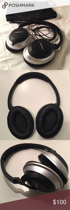 BOSE over the ear, wired headphones BOSE over the ear, wired headphones.  Amazing sound quality, comfortable fit, and hardly used.  Includes BOSE pouch in picture. BOSE Other