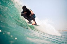 Aaron riding his 9'7 Cy's Aquatic Almond in Newport last week. Photo: The Honorable Mr. Thomas Green