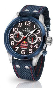 84c3e1144c3 TW Steel TW967 Red Bull Holden horloge 48mm Relógios Para Homens