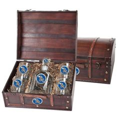 Kansas Jayhawks Capitol Decanter Wood Chest Set *** You can find more details by visiting the image link.  This link participates in Amazon Service LLC Associates Program, a program designed to let participant earn advertising fees by advertising and linking to Amazon.com.