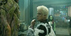 Benicio del Toro as the Collector. He's ancient, but do you consider this angelic?<br />