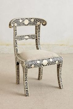 Anthropologie Bone Inlay Chair - anthropologie.com #anthroregistry