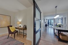 All Flats at Bethesda Avenue Apartments feature hardwood flooring throughout.