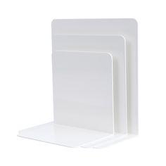 Kirjatuet 3 kpl, valkoinen