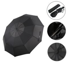 Now Available on our Store:Automatic Folding Umbrella Double Canopy