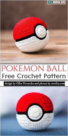 Pokemon Crochet Pattern, Pikachu Crochet, Crochet Geek, Crochet Animal Patterns, Crochet Patterns Amigurumi, Cute Crochet, Crochet Crafts, Easy Crochet, Quick Crochet Patterns