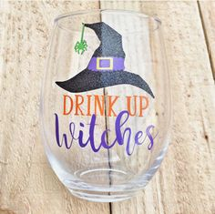 Your place to buy and sell all things handmade Fall Wine Glasses, Halloween Wine Glasses, Custom Wine Glasses, Painted Wine Glasses, Gin Glasses, Wine Glass Sayings, Wine Glass Crafts, Wine Bottle Crafts, Wine Mom