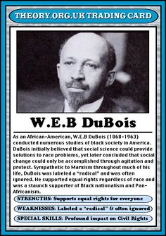 The Second Sight of W.E.B. Du Bois