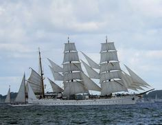 Ships & Seas…   United States Coast Guard Barque EAGLE … United States Coast Guard Barque EAGLE #triviaTuesday A: Coast Guard Cutter Eagle's was originally commissioned Horst Wessel in 1936. Eagle is slightly bigger than the ship she was designed after…