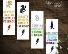 Hogwarts House Virtues Printable Bookmarks ❤ Liked On pertaining to Harry Potter House Bookmarks Printable Marque Page Harry Potter, Cadeau Harry Potter, Harry Potter Motto Party, Harry Potter Fiesta, Deco Harry Potter, Harry Potter Thema, Harry Potter Bookmark, Cumpleaños Harry Potter, Mundo Harry Potter