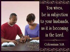 Piątek 22 lipca Żony, bądźcie podporządkowane swym mężom, jak przystoi w Panu (Kolosan 3:18). http://wol.jw.org/pl/wol/dt/r12/lp-p/2016/7/22