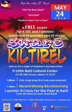 Haitian American Youth Online Hay Sware Kiltirel Held At Little Haiti Cultural Center On