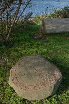 Runestone in Foteviken, viking village in Sweden https://www.flickr.com/photos/125320970@N05/